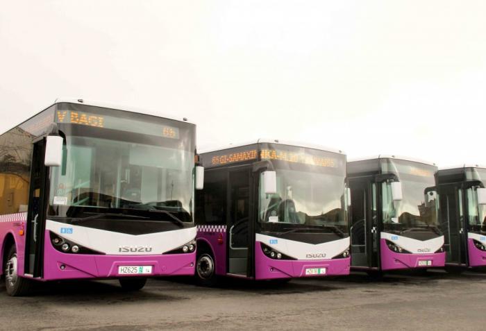 Azərbaycana 101 avtobus gətirilib