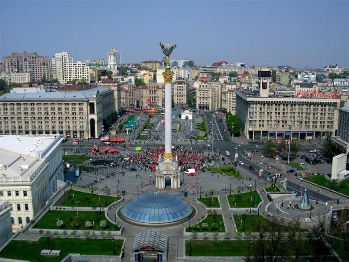Kiyevdə azərbaycanlı miqrantlara baş çəkilib