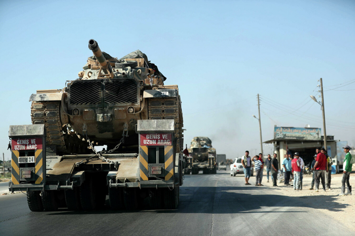 Türkiyənin hərbi karvanına hücum: 3 ölü, 12 yaralı (Yenilənib)