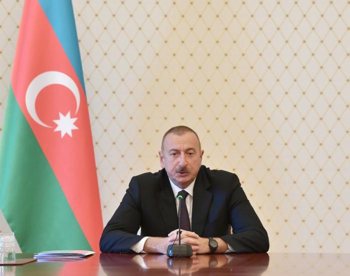 """""""Küçə işıqlandırılması hələ də lazımi səviyyədə deyil"""" - İlham Əliyev"""
