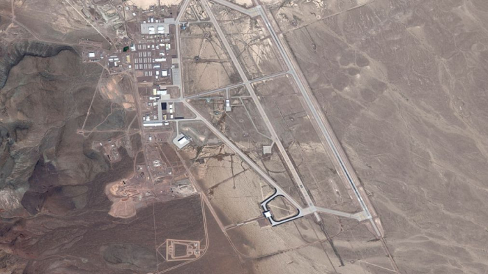 Area 51: China's own   top-secret   military base discovered using Google Maps -shock claim
