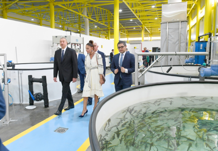 """Prezident və xanımı """"Nərəkənd""""in açılışında -"""