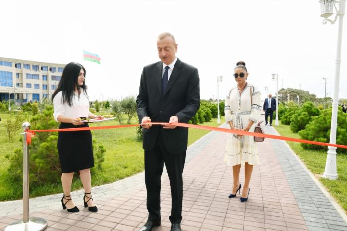 Pirallahıda YAP-ın yeni binası açıldı -