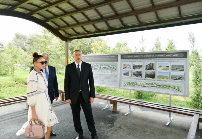 Qəzalı binaların sakinləri üçün yeni kompleks tikilir - FOTOLAR (YENİLƏNİB)