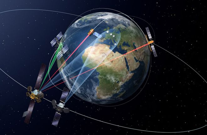 Europe launches second EDRS space laser satellite