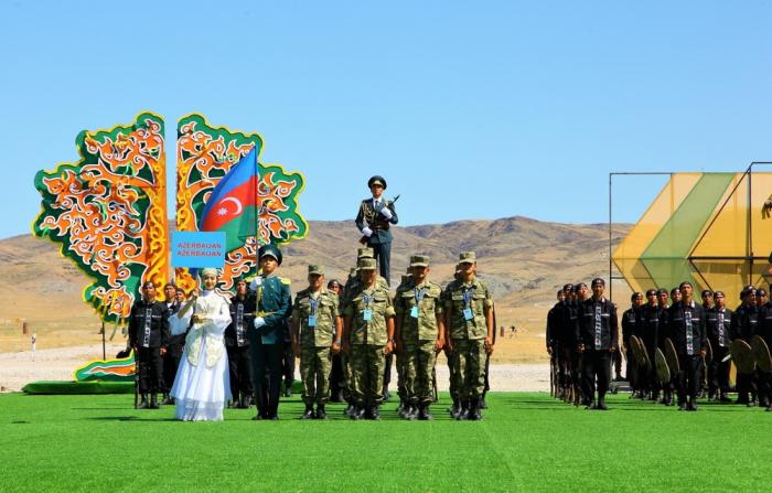 Azerbaijani servicemen partake in int'l contest in Kazakhstan
