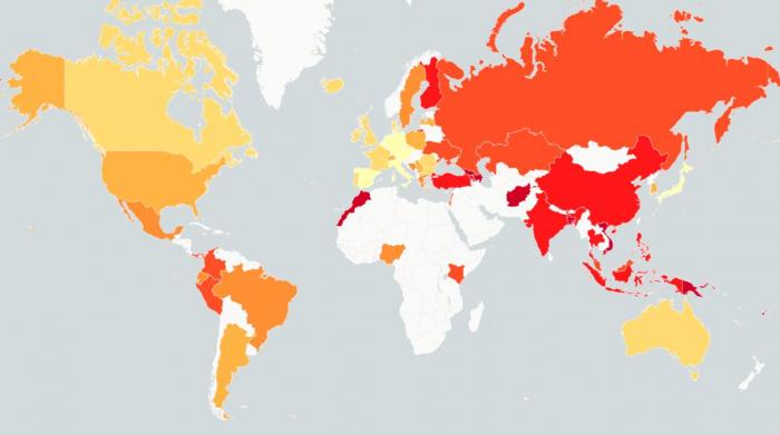 Los españoles, entre los menos dispuestos a una guerra; los marroquíes, los que más