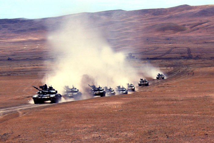 Azerbaijani army launches command and staff exercises - PHOTOS