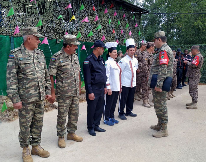 "Azerbaijani military chefs became winners of the second stage of the ""Field Kitchen"" contest"
