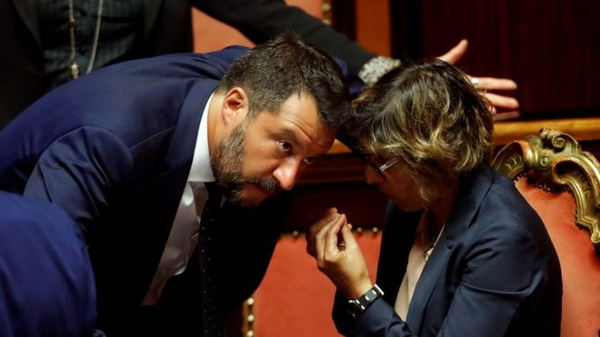 Italy government: Salvini calls for snap election