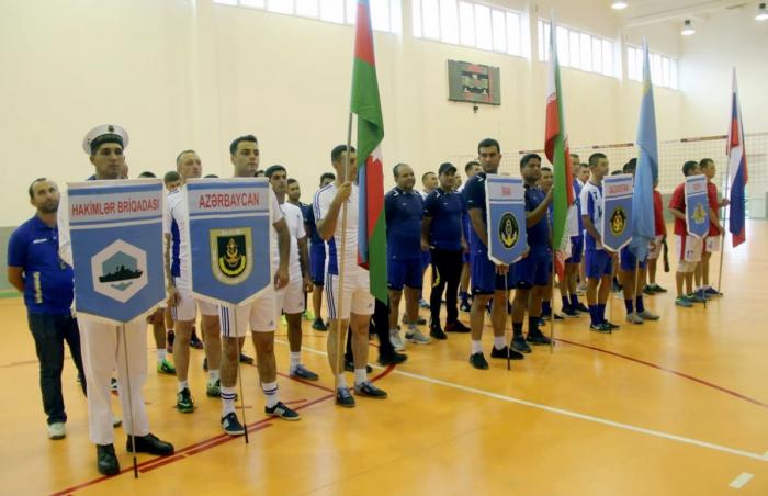 """Azerbaijani military seamen win volleyball tournament of """"Sea Cup-2019"""" contest"""