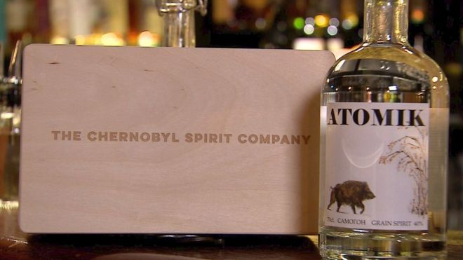 Chernobyl vodka becomes first consumer product made in exclusion zone