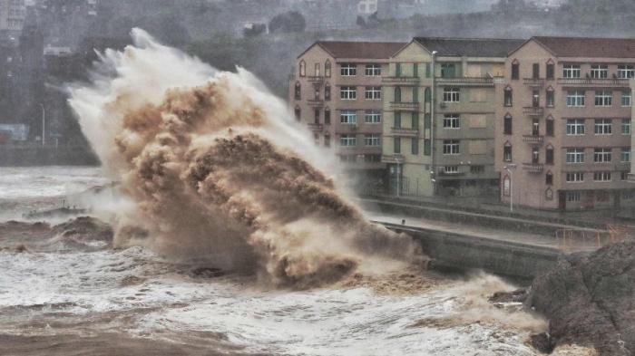 """Eine Million Menschen evakuiert -""""Lekima"""" trifft auf Festland"""