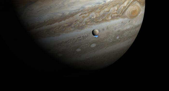 La NASA presenta una nueva imagen pintoresca de la tormenta en Júpiter