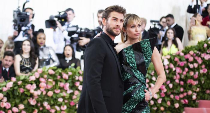 Se separan Miley Cyrus y Liam Hemsworth