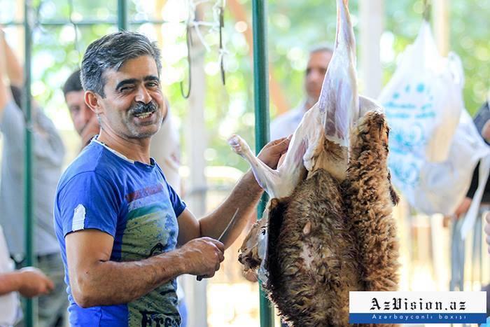 Aserbaidschan feiert Eid al-Adha