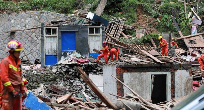 Se eleva la cifra de muertos en China por el tifón Lekima