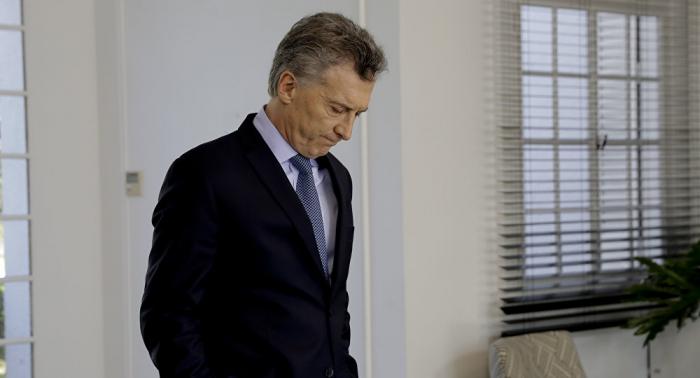 Mauricio Macri reconoce haber sufrido una derrota electoral