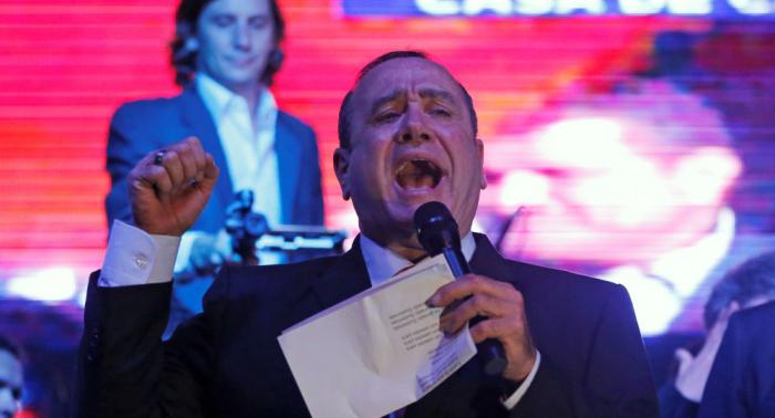 Giammattei es declarado virtual presidente electo de Guatemala