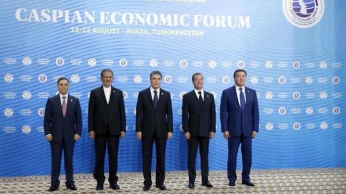 Le Premier ministre Novrouz Mammadov a participé au Ier Forum économique de la Caspienne