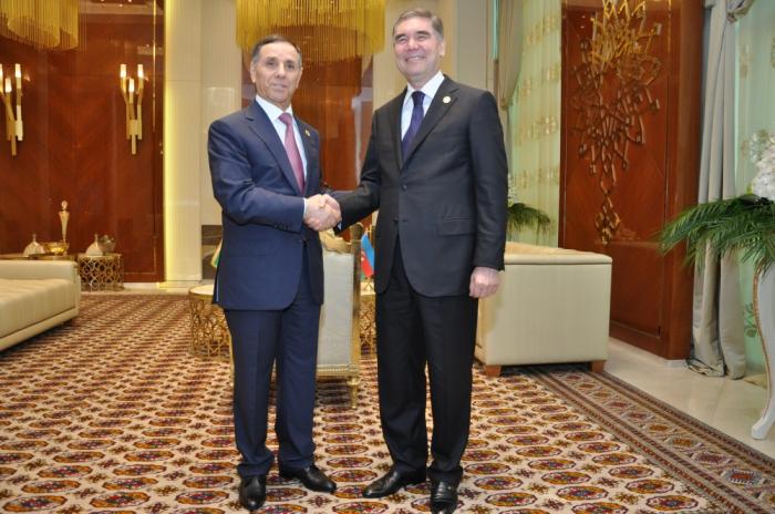 LePremier ministreazerbaïdjanais rencontre Kourbangouli Berdimoukhamedov