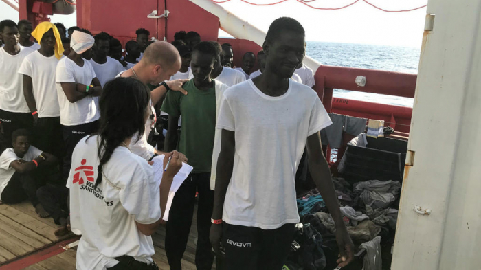 French, Spanish charity ships rescue another 81 migrants off Libya