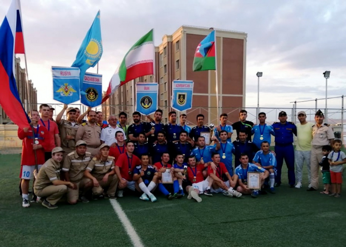 Azerbaijani team wins mini-football tournament as part of Sea Cup-2019