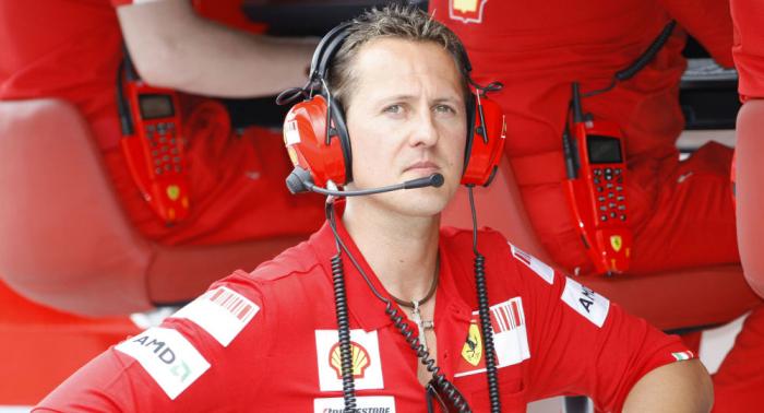 Rollenwechsel: Ein seltenes Video zeigt Schumacher von der unbekannten Seite