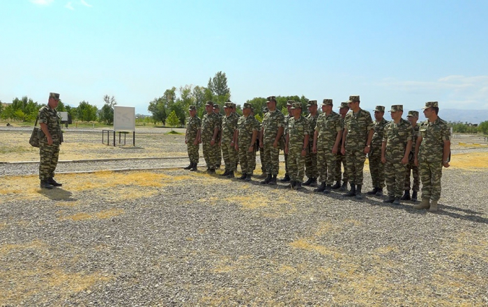Classes on command training conducted in Azerbaijan's Nakhchivan Separate Combined-arms Army -   VIDEO