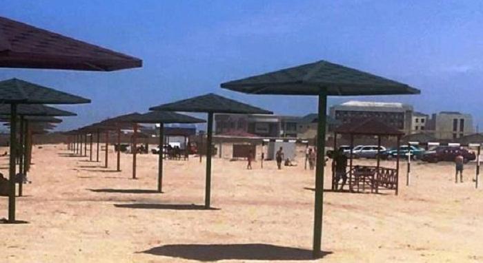 Two more public beaches created in Baku on Leyla Aliyeva