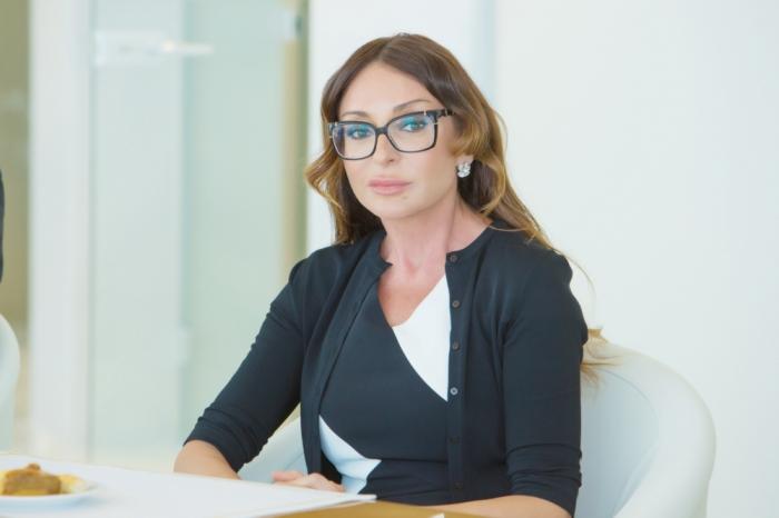La primera vicepresidenta Mehriban Aliyeva envía una carta a Putin