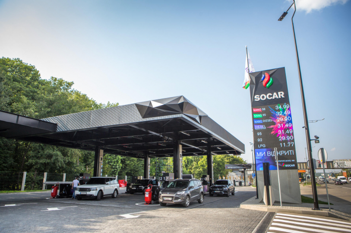 SOCAR opens new gas filling station in Ukraine