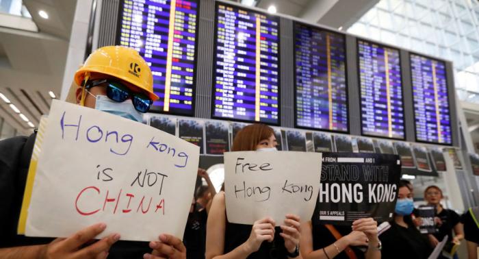 """China beschuldigt USA """"krimineller Aktivitäten"""" in Hongkong"""