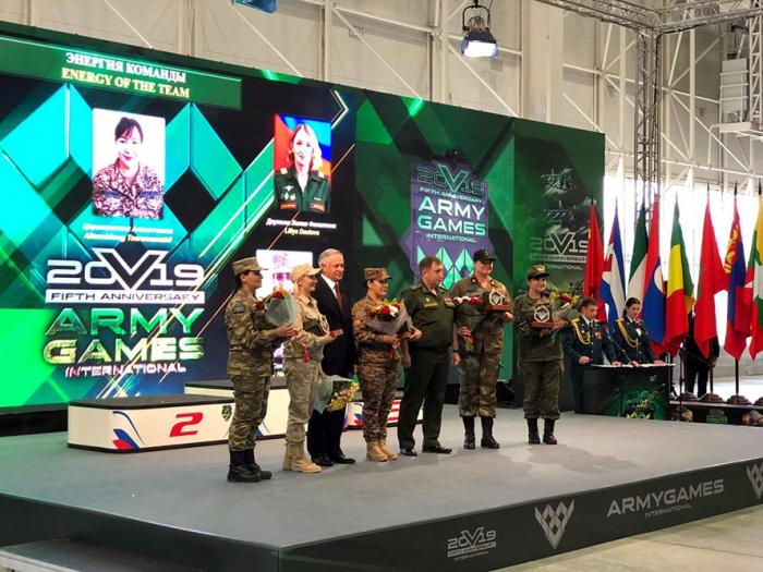 Azerbaijani servicemen awarded at International Army Games 2019