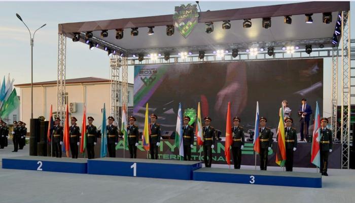 Jeux militaires 2019 :   des médecins militaires azerbaïdjanais récompensés au concours «Course de relais médicale»