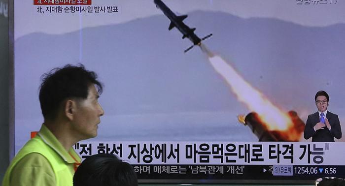 Nordkorea feuert zwei unbekannte Geschosse ab – südkoreanisches Militär
