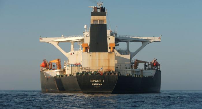 El petrolero Grace 1 zarpará de Gibraltar tras cambio de bandera y nombre