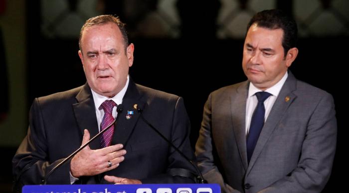 """EE UU presiona al nuevo presidente de Guatemala para que acepte el acuerdo firmado de """"tercer país seguro"""""""