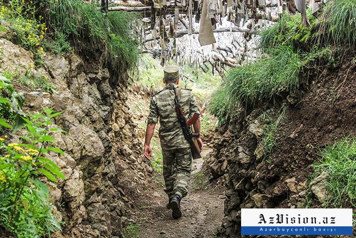 Los armenios recurren a la provocación-  Un soldado azerbaiyano resulta herido