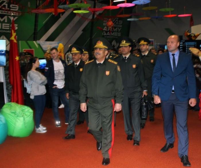 Ministro de Defensa de Azerbaiyán participa en la ceremonia de clausura de los Juegos Internacionales del Ejército 2019