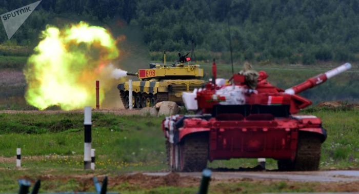 Panzerbiathlon in Russland: Das große Finale