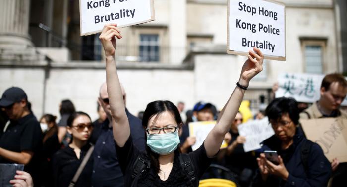 La UE llama a tomar medidas urgentes para reducir las tensiones en Hong Kong