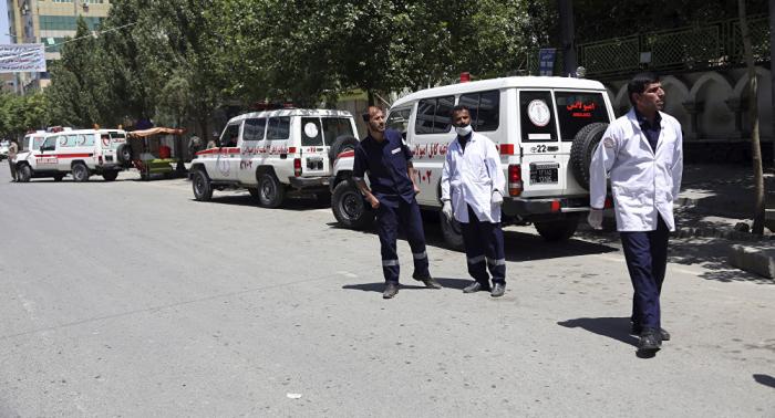 Decenas de heridos en una cadena de explosiones en el este de Afganistán