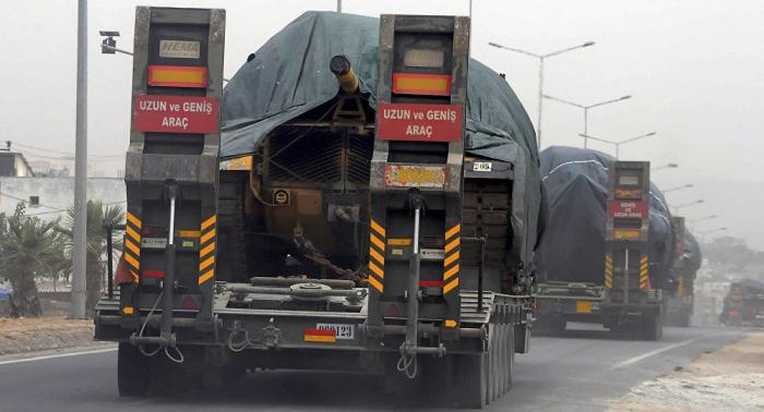 Auf dem Weg nach Chan Schaichun: Türkische Militärs in syrische Stadt Saraqib eingerückt