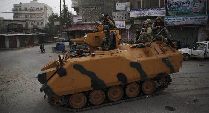 Medien melden syrischen Luftangriff auf türkischen Militärkonvoi