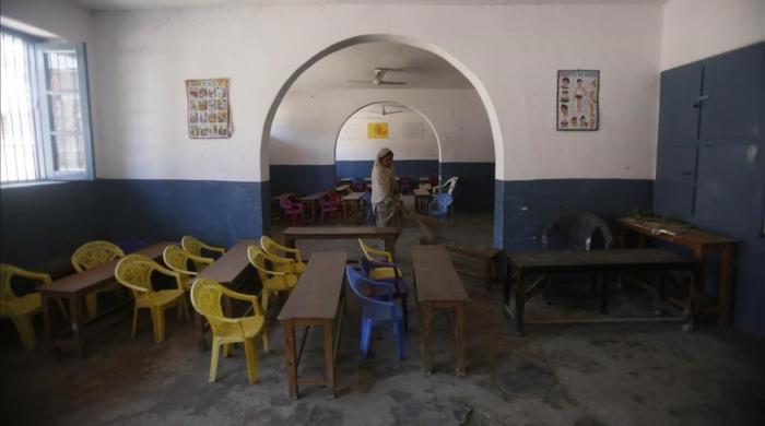 Escuelas vacías en la Cachemira india por temor a los disturbios
