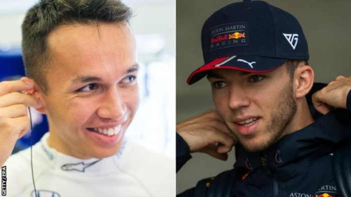 Red Bull: Alexander Albon to replace Pierre Gasly