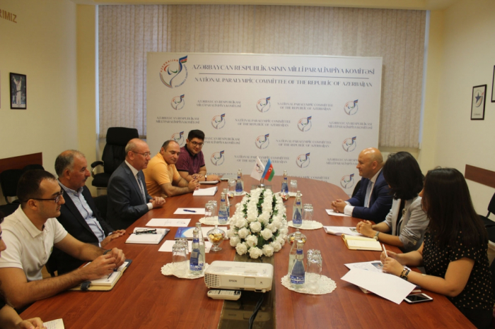 National Paralympic Committee embarks on cooperation with AmCham Azerbaijan
