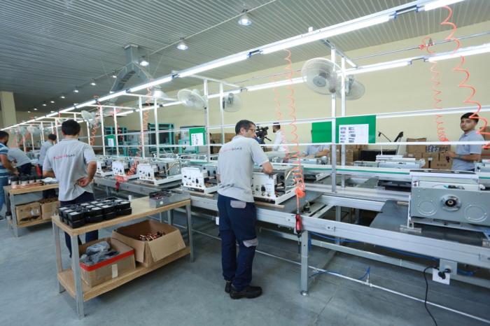 Comienza a funcionar la planta de producción de caldera de gas Azerbaiyán-China