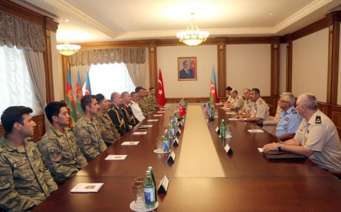 Aserbaidschanisches Verteidigungsministerium dankt der türkischen Seite